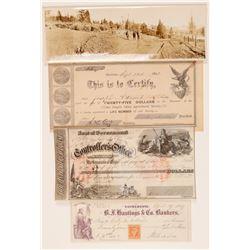 California 1800's History Group (4 Items)  105756