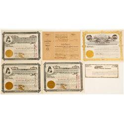 Colorado Stock Certificate Group  58332