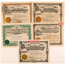 Mullan, ID Mining Stocks (5)  108166