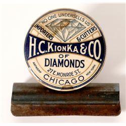 H. C. Klonka & Company 'Diamonds' Celluloid  105846