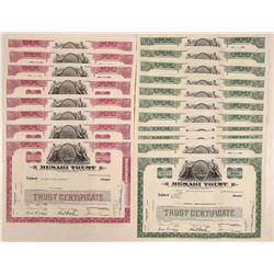 Mesabi Trust Stock Certificates  108146