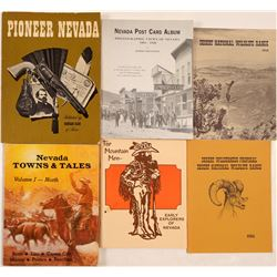 Books of Nevada / 6 Items.  109677