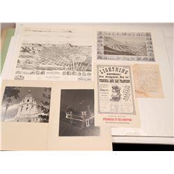 Historical Western Americana Prints & Broadside  109497