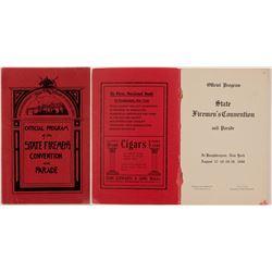 State Firemen's Program/ Poughkeepsie , N.Y.  109646