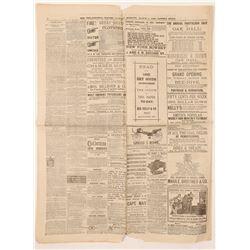 Newspaper / The First Milk Jar  102098