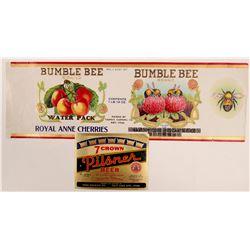 Rare Nice Utah Labels (2)  106398