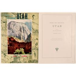 Travel Booklet / Scenic & Industrial Utah.  109666