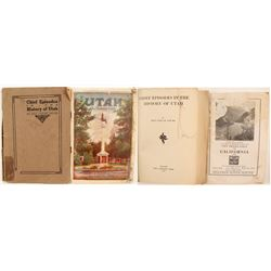 Utah History and Tourist Booklets (2)  86462