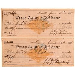 Wells Fargo RN Checks to Utah Notables (2)  105074