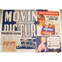 Assorted Posters and Handbills  89906