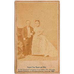 General Tom Thumb and Wife Photograph  108134