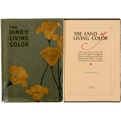 "Travel Booklet / "" The land Of Living Color "" .  109665"