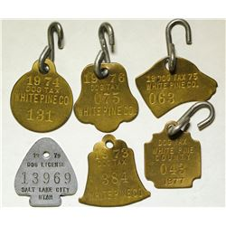 White Pine County Dog Tags  86378