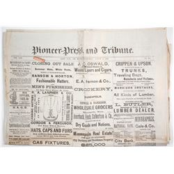 Newspapers - Jesse James Denied Train Robbery  63900