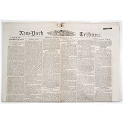 Newspaper - James Younger Gang, Cole Younger Killed  63902
