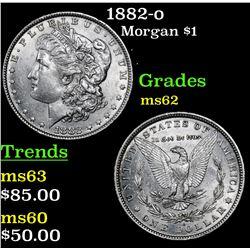 1882-o Morgan Dollar $1 Grades Select Unc