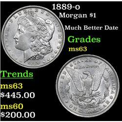 1889-o Morgan Dollar $1 Grades Select Unc