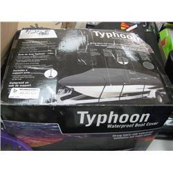 TYPHOON WATERPROOF BOAT COVER