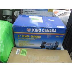 "KING CANADA 8"" BENCH GRINDER"
