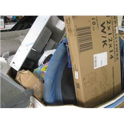 PALLET OF COSTCO RETURNS SWING / CHAIR / TOYS / RELISH