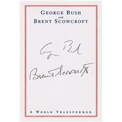 George and George W. Bush