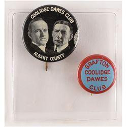 Calvin Coolidge and Charles G. Dawes