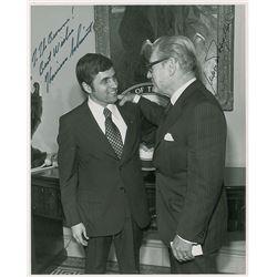 Harrison Schmitt and Nelson Rockefeller