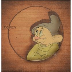 Dopey production cel from Snow White and the Seven Dwarfs