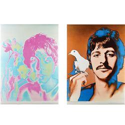 Beatles: McCartney and Starr