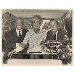 Walt Disney and Carol Channing