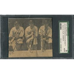 NY Yankees: DiMaggio, Lazzeri, and Crosetti