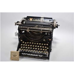 Vintage Underwood Standard typewriter with spare boxed ribbon