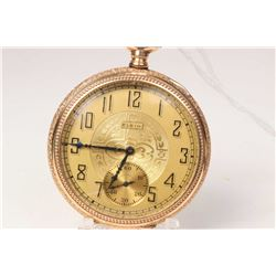Elgin size 12, 15 jewel grade 315 model 3 pocket watch, serial # 25153262, dates to 1923. 3/4 nickel