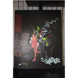 """Stretcher framed limited edition giclee """"Ollie Capone"""" by Michael Godard 120/125"""