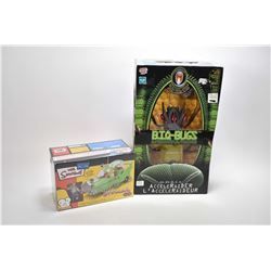 """New in package Bio-Bugs remote control toy and a new in package Homer Simpson """"The Homer"""" snap toget"""