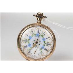 Waltham size 16, 15 jewel pocket watch. Grade 620 serial # 19247342 dates to 1913. 3/4 nickelplate s