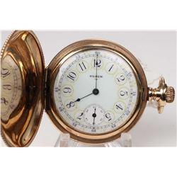 Elgin size 6, 15 jewel grade 295, model 2 pocket watch. Serial # 16569912, dates to 1912. 3/4 plate