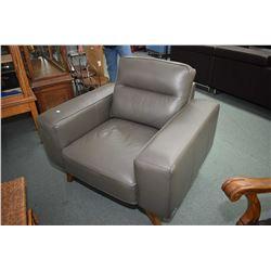 Modern Abbyson upholstered parlou chair
