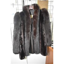Ladies beaver lamb fur coat with original Regal Furs/Allen Marcus tag