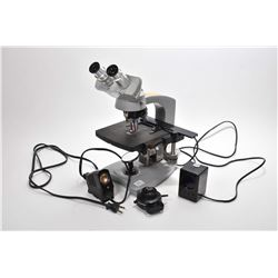 Vintage Spencer compound microscope with accessories