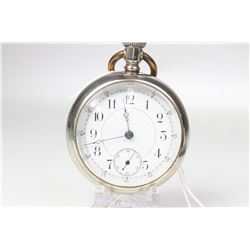 Seth Thomas size 18, 11 jewel series 6 pocket watch. Serial # 541846 dates this pocket watch to 1900