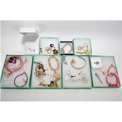 Selection of costume jewellery including Disney Couture, Designer pieces including Kate Spade, Micha