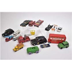 Selection of vintage die cast including Corgi, Ertl, Seerol, Husky and Tootsie Toy