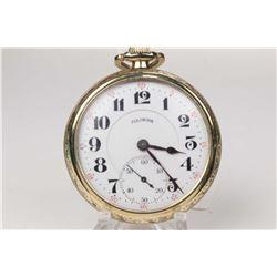 Illinois size 16, 17 jewel grade 305, model 7 Pensylvania Special Time King pocket watch. Serial # 4