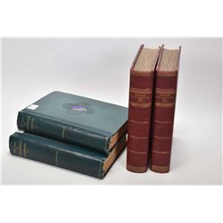 """Four vintage hardcover books including """"The Life of Michelangelo Buonarroti, Volumes I and II plus t"""