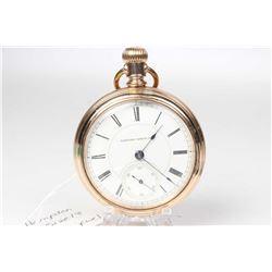 Hampden size 18, 11 jewel, grade 54, model 3 pocket watch. Serial #348660 dates this pocket watch to
