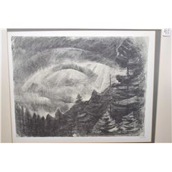 Two framed limited edition prints of charcoal drawings done by Emily Carr between 1929-1931, both fr
