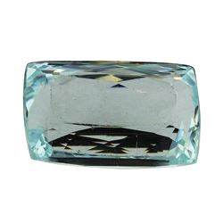 13.19 ct.Natural Cushion Cut Aquamarine
