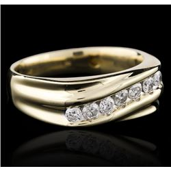 14KT Yellow Gold 0.75 ctw Diamond Ring