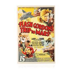 Flash Gordon's Trip to Mars Recreation 1 Sheet Movie Poster